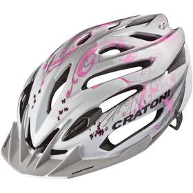 Cratoni C-Air Woman pearlwhite-pink glossy